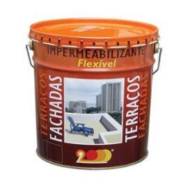 Impermeabilizante Flexivel Cores Leves 15 Lts.  Tinta flexível aquosa de polímeros acrílicos fotoreticuláveis.
