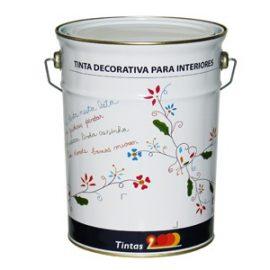 Plas Seda Cores Leves 15 Lts.  Tinta aquosa vinílica.
