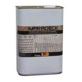 Impradeck Castanho 25 Lts.  Produto formulado à base de óleos modificados e repelentes de água.