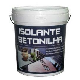Isolante Betonilha Cinzento 5 Lts.  Isolante flexivel baseado numa dispersão aquosa de copolímeros acrílicos.